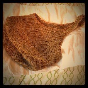 Beautiful woven summer bag.
